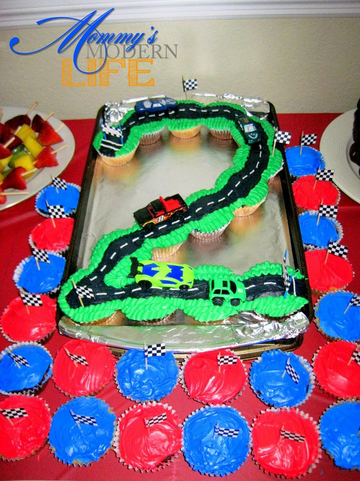 The Cars Birthday Cake