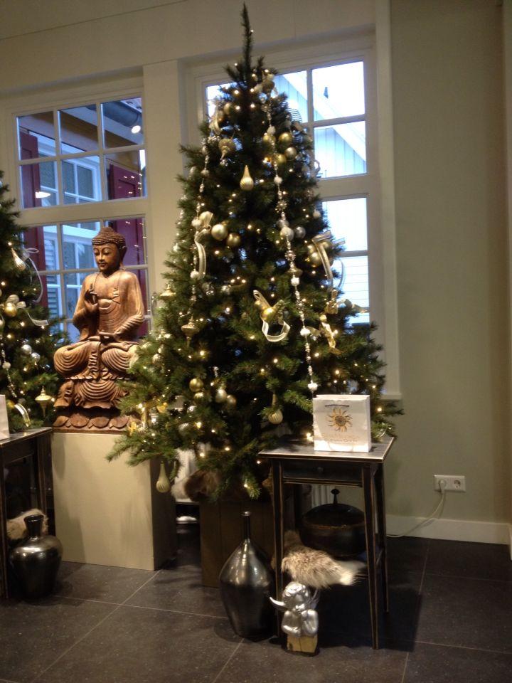 Attractive Christmas Tree @ Beauty Institute Spa Medica Els Van Gogh. Styling Rich Art  Design