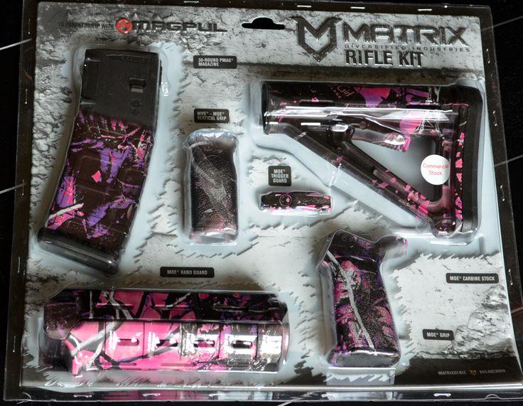 Matrix Diversified MAGPUL Muddy Girl AR Accessory Kit