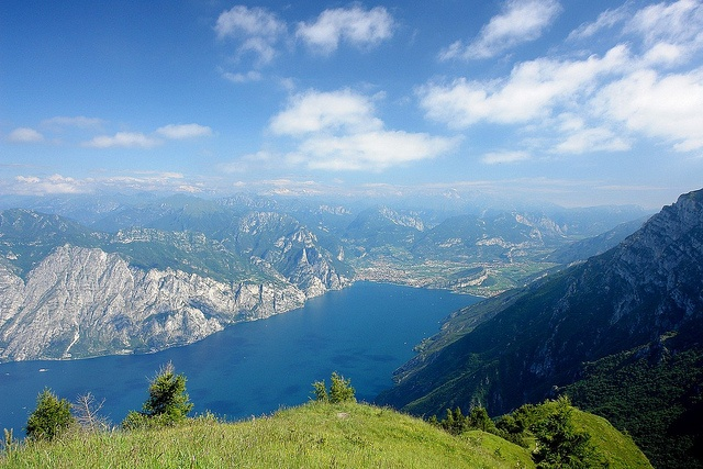 Looking down from monte Baldo by WeatherMaker
