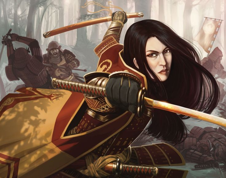 L5R Legend-of-the-Five-Rings fantasy online cardgame legend five rings mmo game warrior samurai (6)
