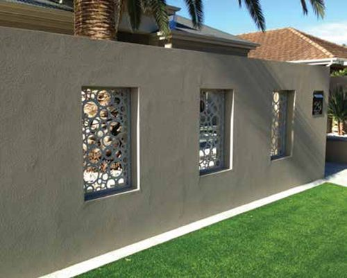 69 Best Boundary Wall Images On Pinterest House Design
