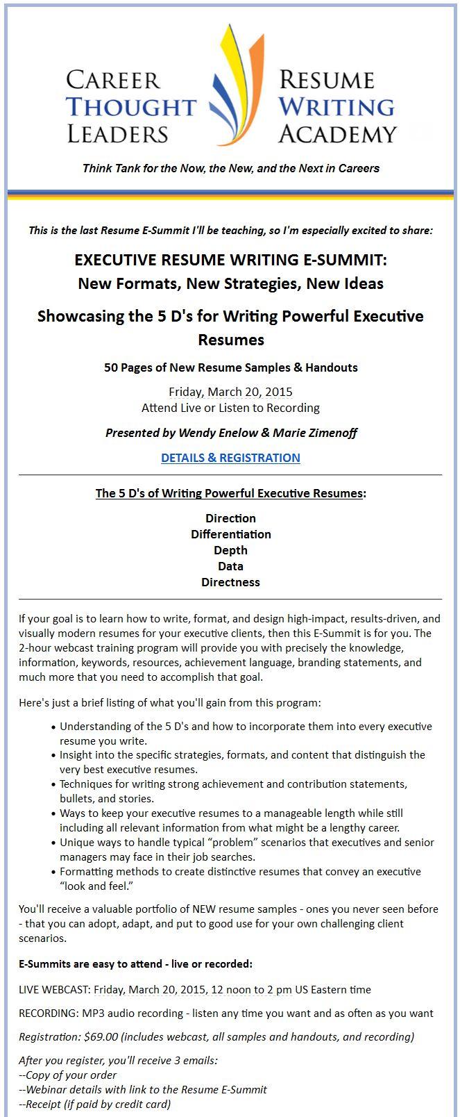 The Resume Writing Academyu0027s Fall ACRW Certification Class Begins September  19th! ➤ Flagship Resume Training U0026 Certification Program Group Class Wu2026  Resume Writing Academy