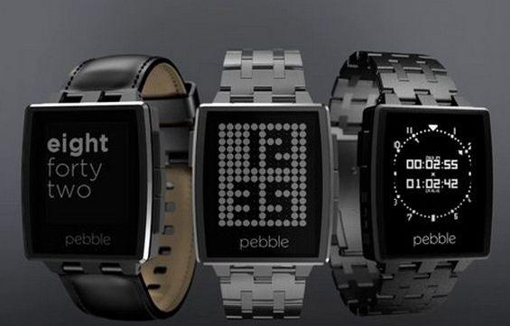 Meet the Pebble Steel Smartwatch