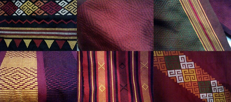 Colours and patterns from Toraja