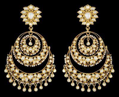 Sunita Shekhawat - A stunning pair of Chaand Balis