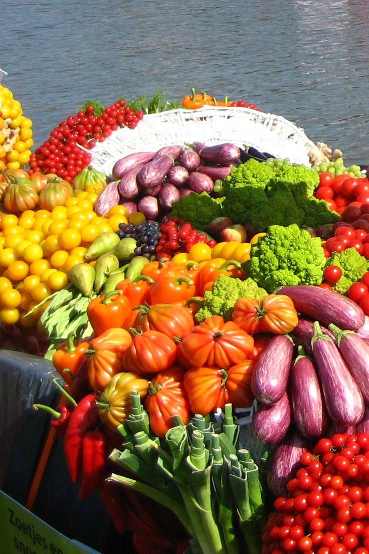 rauwe groente en fruit dieet