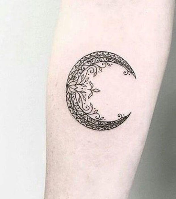 Les 25 meilleures id es de la cat gorie tatouages de lune - Tatouage de lune ...