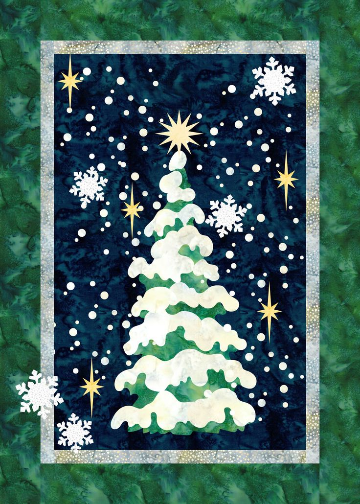 Oh Christmas Tree Pattern At Quilt Fusion Christmas