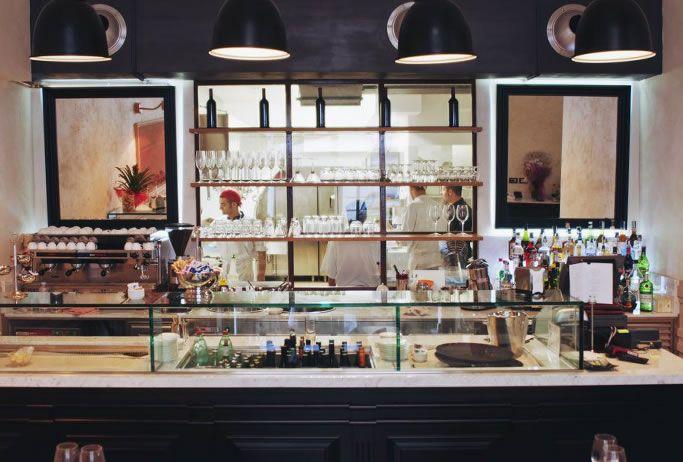 Osteria 44 - Restaurant - Via Aureliana, 44 Rome - design and made by RPM Proget