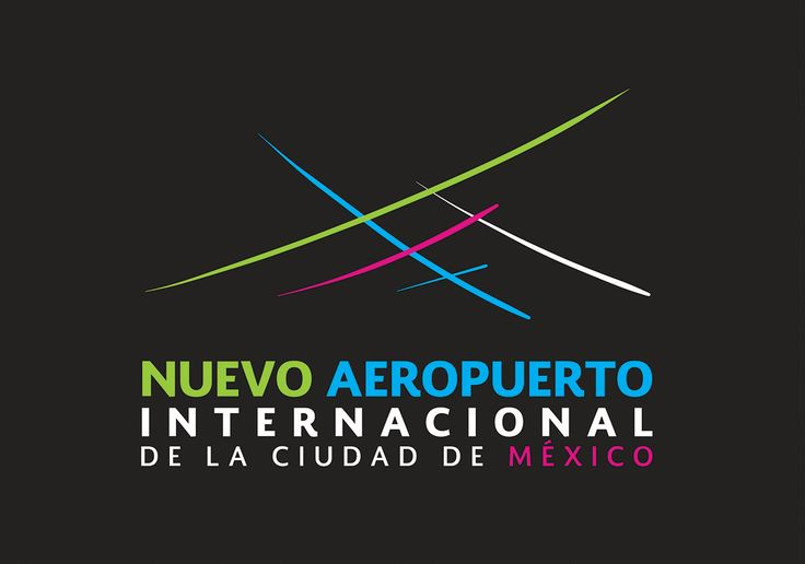 I would like to share the logo design proposal I submitted to the NAICM design contest for the New Mexico City International Airport, known primarily as Nuevo Aeropuerto Internacional De La Ciudad De México. A very hard design to make I must say, but I sure had a lot of fun with it.