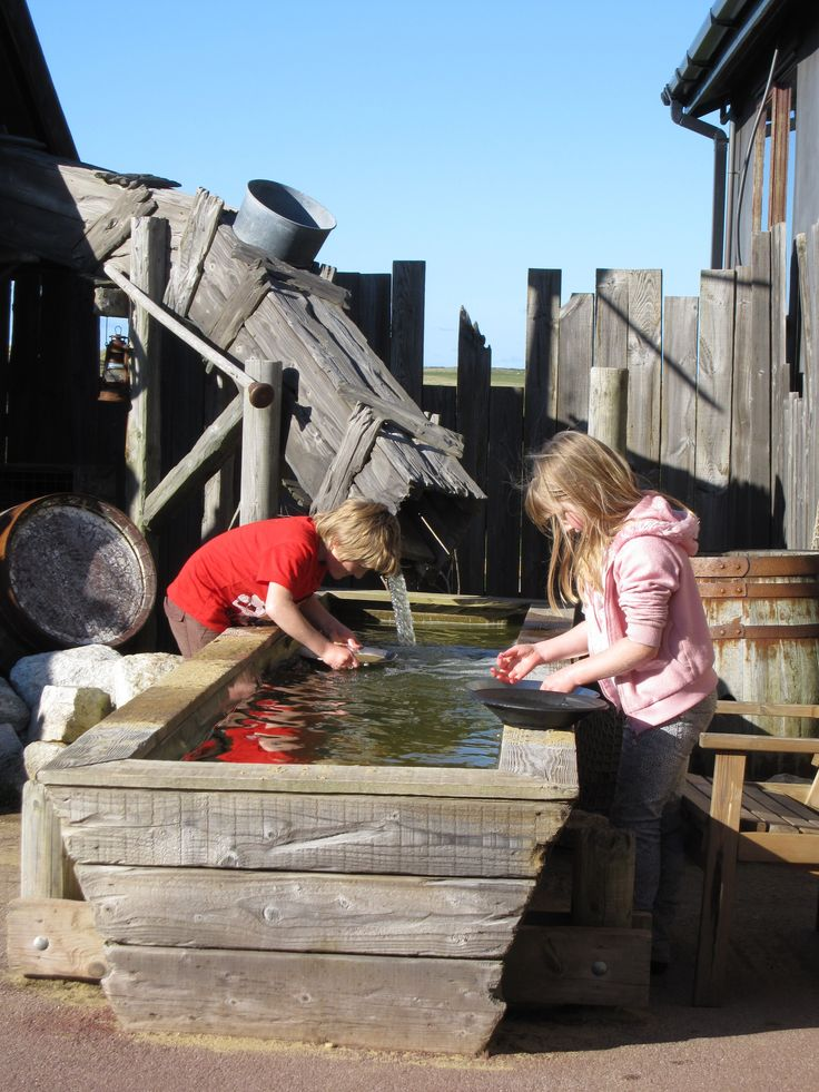 19. Pan for gold. This is at Hollywell Bay; another place the children have enjoyed panning is Poldark Mine.