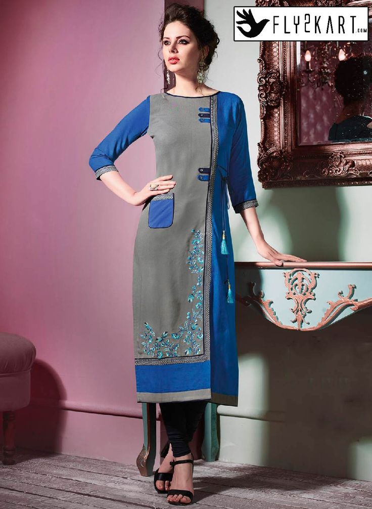 Blue and Black Color Kurti http://www.fly2kart.com/catalog/product/view/id/45470/?utm_content=bufferc46d8&utm_medium=social&utm_source=pinterest.com&utm_campaign=buffer BIG OFFER SALE UP TO 50% OFF!!! +91-8000800110 CALL OR WHATSAPP