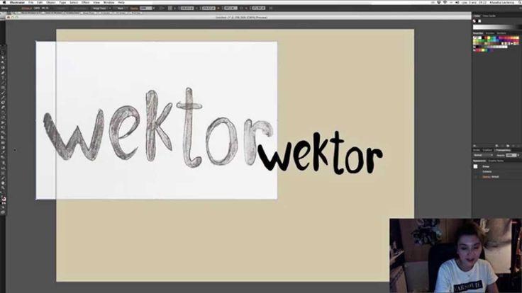 Adobe Illustrator Tutorial: Jak zrobić logo z rysunku?