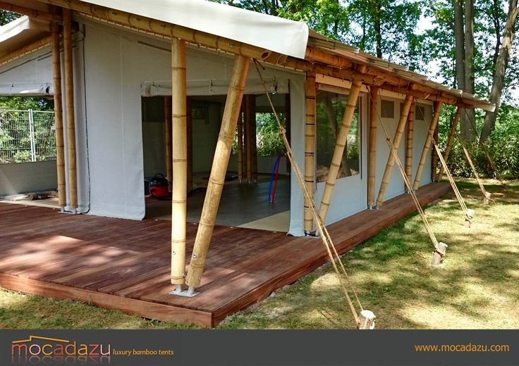 Luxury Bamboo Canopy Tent Structure
