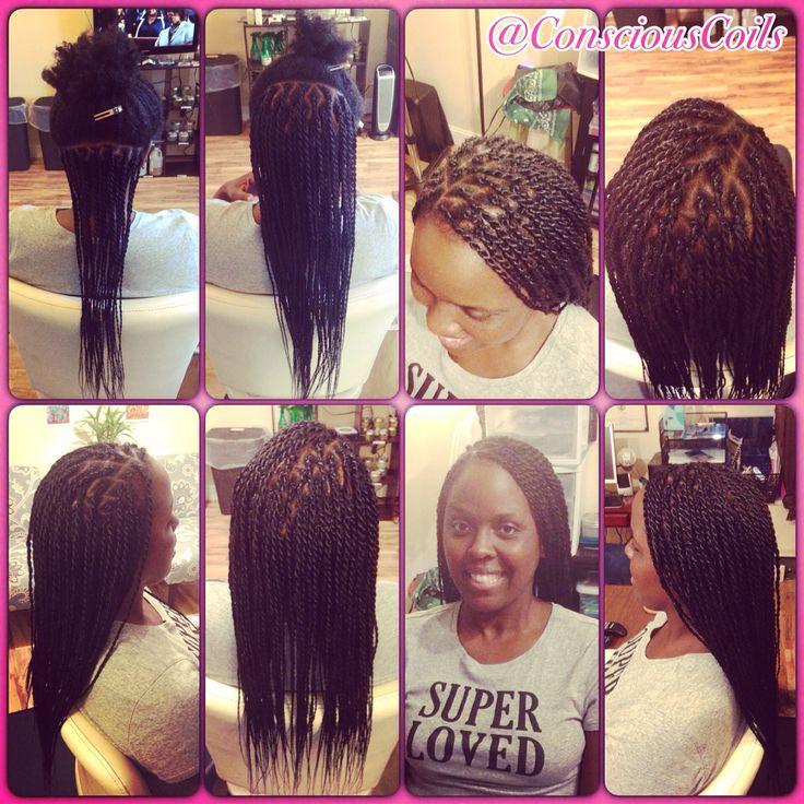 Style Senegalese Twists Client S Hair Type 4a B Added Rastafri Kanekalon