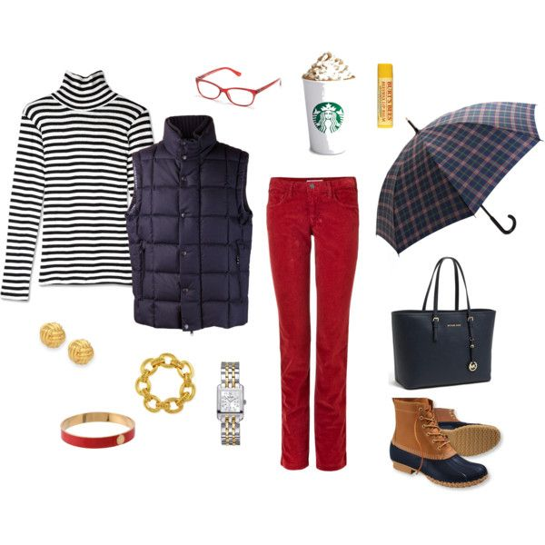 """Rainy Work Day"" by suburban-charm on Polyvore"