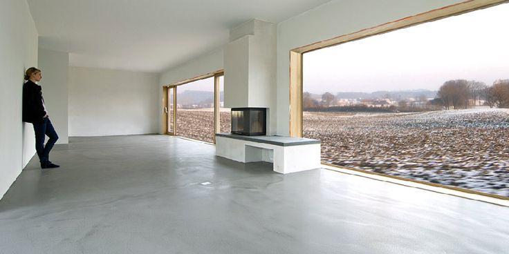 A Monolith Sichtestrich Der Boden Für Eine Neue Modern
