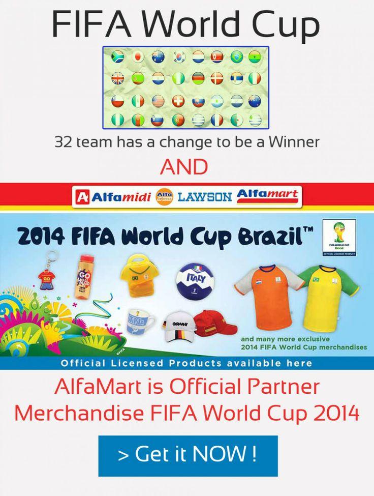 Sudah tidak sabar untuk menyaksikan piala dunia Brazil 2014, karena menurut jadwal yang ada tinggal menunggu kurang dari 100 hari lagi. - See more at: http://visual.ly/gebyar-merchandise-piala-dunia-brazil-2014-dari-alfamart-official-partner-fifa#sthash.BHGUKRAI.dpuf