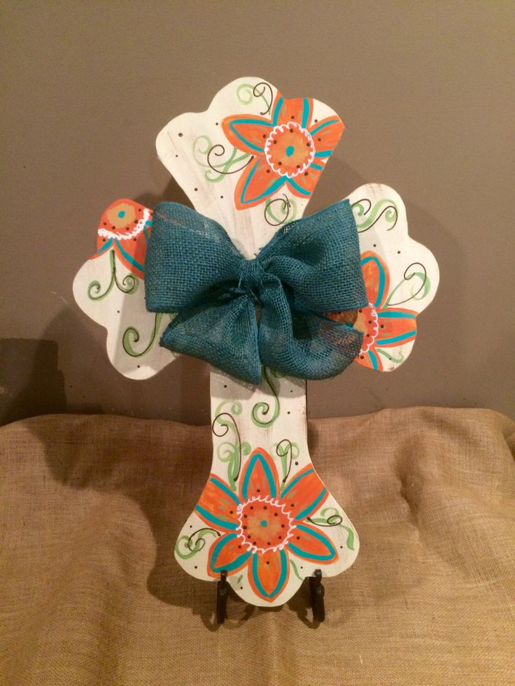 Cross Door Hanger, Easter Door Hanger, Cross, Christian, Wreath, Spring Door Hanger with Burlap Bow by SassySouthArt on Etsy https://www.etsy.com/listing/223953650/cross-door-hanger-easter-door-hanger