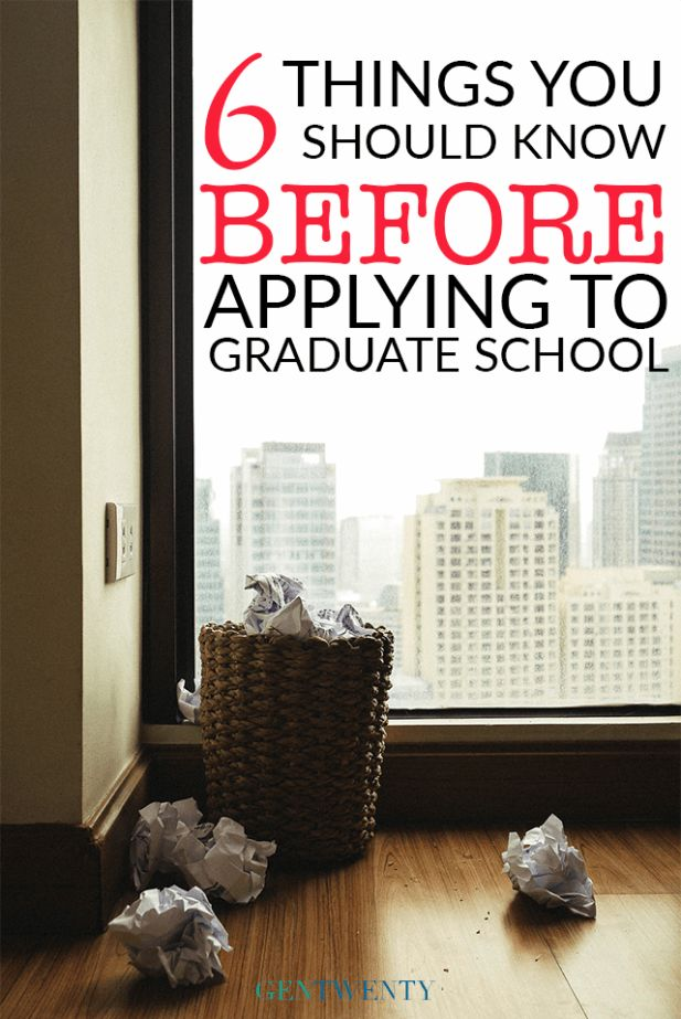 6 Extremely Helpful Things To Know Before You Apply Graduate School Plus Tips And