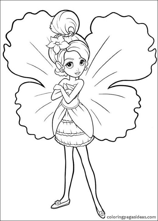 The 9 best images about Barbie Coloring Pages on Pinterest
