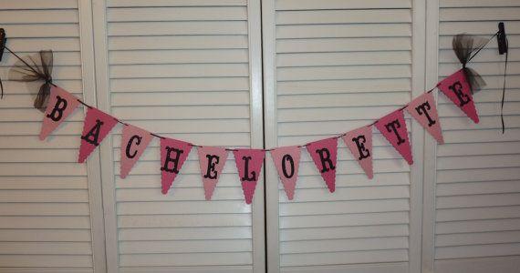 Bachelorette Party Banner Ooh La La Bachelorette by AllThingsTisha, $25.00