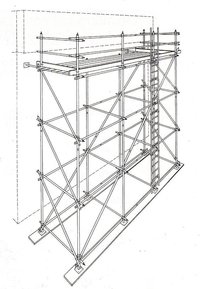 best 25  scaffold tube ideas on pinterest
