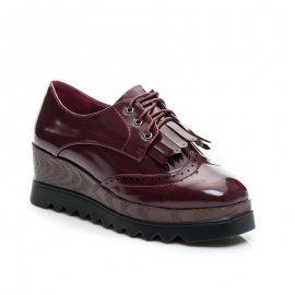 Retro topánky na viazanie MY129MA /S2-6P