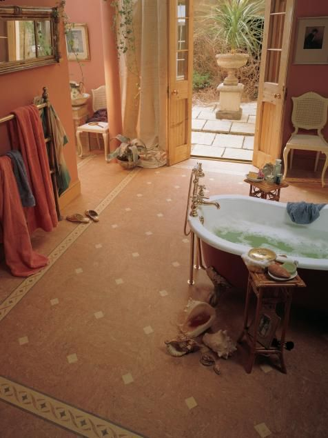 hgtvremodels bathroom floor buying guide gives you expert tips and photos for using linoleum in your