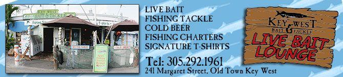Key West Bait & Tackle Shop - Key West Fishing Charters, Live Bait