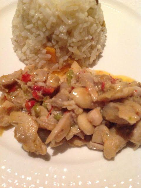 bizim evin aşçısı: Bademli Tavuk-Kremalı Pilav
