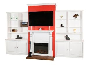 Design Your Fireplace Bookcase Wall Units by Arthur Brown