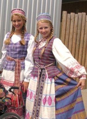 リトアニア(マルシュキニアイ) : 可愛すぎる世界の民族衣装 - NAVER まとめ