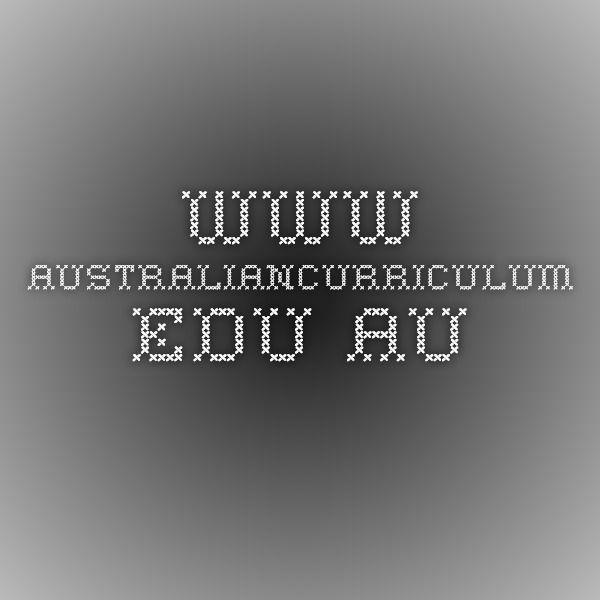 www.australiancurriculum.edu.au