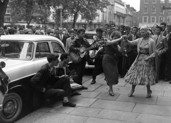 1956 Jiving in Soho Square