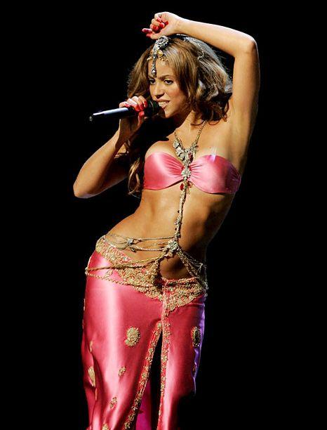 Shakira- her body is amazing! So pretty
