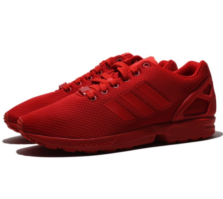adidas original zx flux red