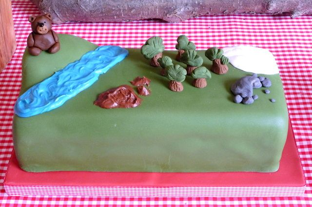 We Re Going On A Bear Hunt Birthday Cake