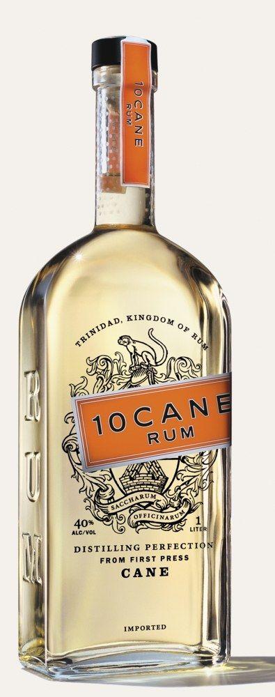 10 Cane Rum bottle