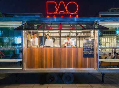 Beijing's Bao House, the city's first luxe food truck