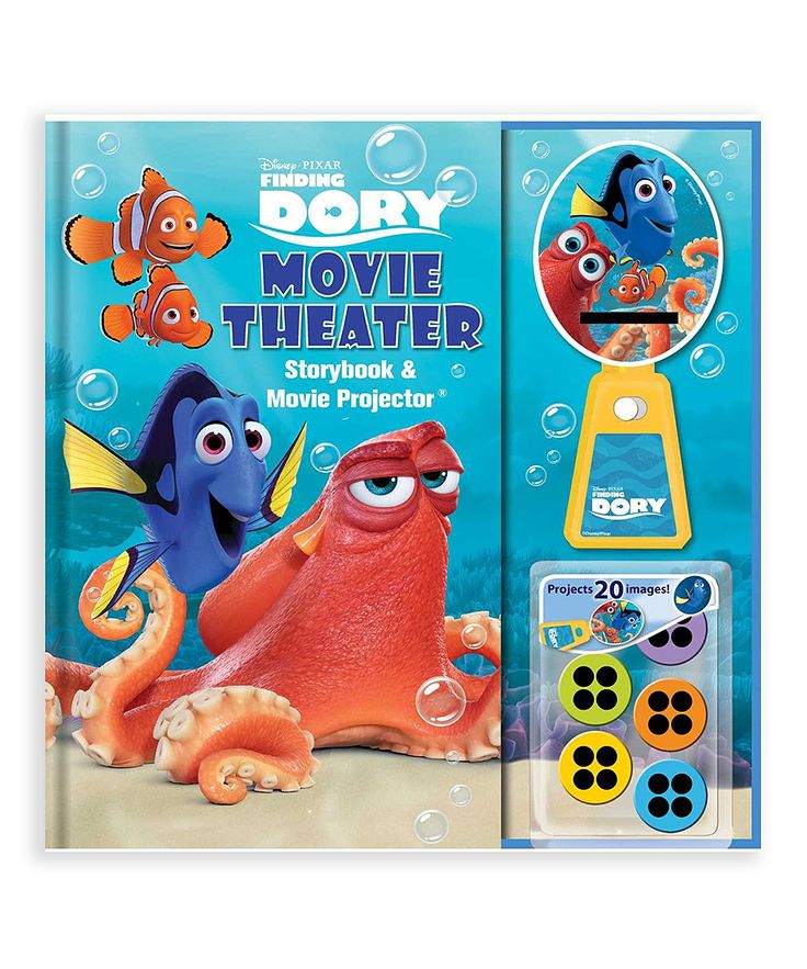 Finding Dory: Movie Theater Storybook Hardcover