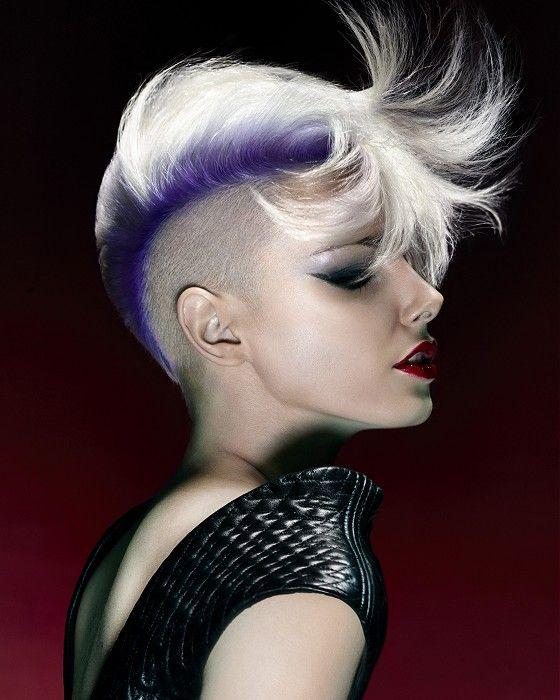 Short White Hairstyles