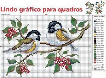Punto de Cruz GRATIS: Animales.  Nice cross stitch site with lots of free charts.
