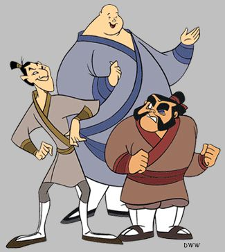 19 best Cosplay ideas: Ling, Chien-Po, and Yao from Mulan ...  19 best Cosplay...