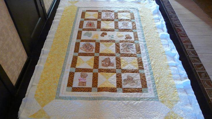Красиво дома: Руководство по созданию одеяла в стиле пэчворк с вышивкой. ЧАСТЬ…