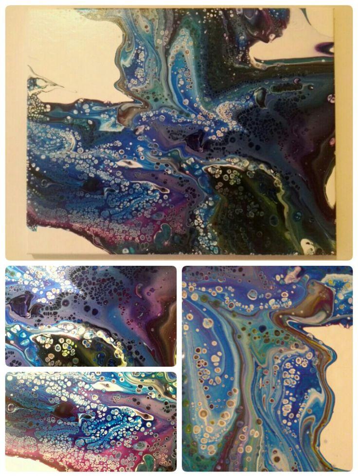 Fluid acrylic paint
