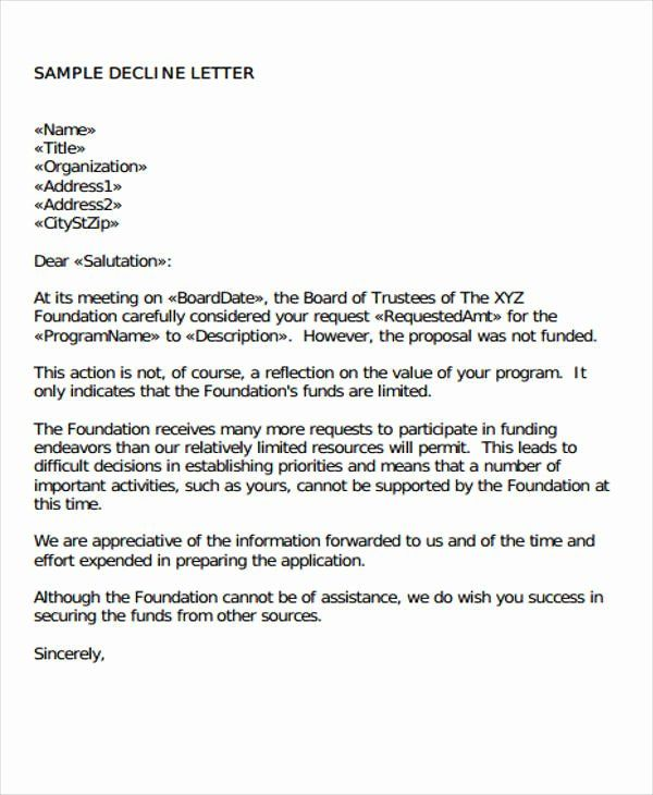 Request For Proposal Rejection Letter New 35 Proposal Letter Format Samples Word Pdf Proposal Letter Format Lettering Simple Cover Letter Template