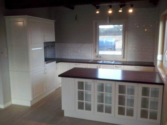 Ikea kitchen door and made to measure cabinets