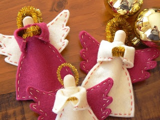 Eve's Offcuts: Easy Angel craft